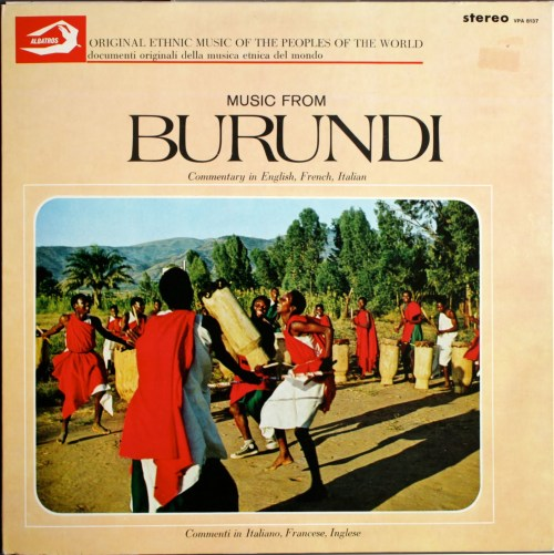 music from Burundi